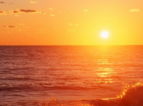 Тихий океан. Закат