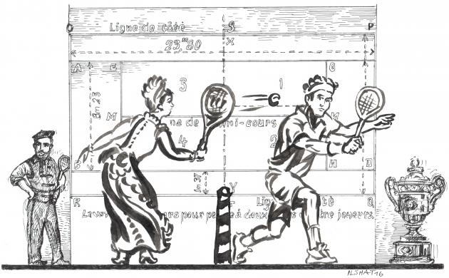 Большой теннис: можно ли стать лидером чужой цивилизации?