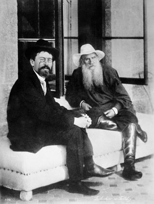 Лев Николаевич Толстой и Антон Павлович Чехов