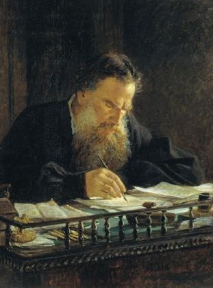 Н.Ге. Портрет Льва Толстого. 1884