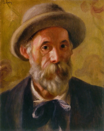 Пьер Огюст Ренуар. Автопортрет. 1899
