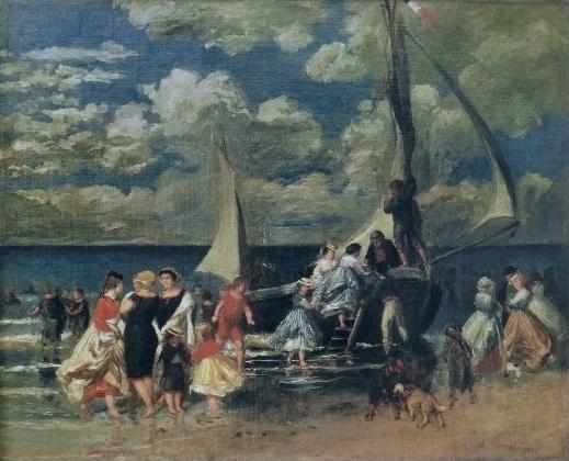 Пьер Огюст Ренуар. Возвращение гребцов. 1862