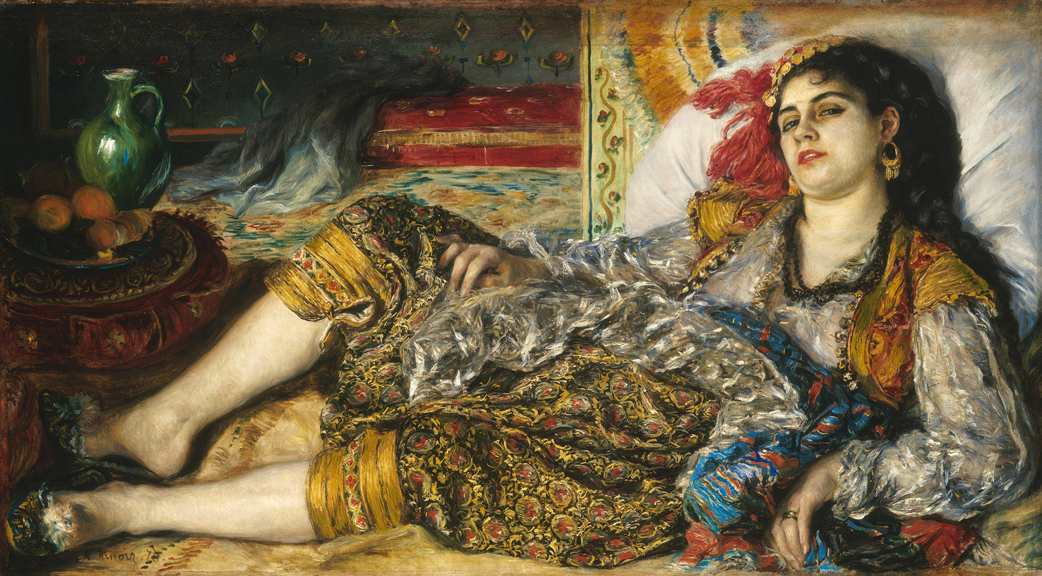 the themes of male power and the role of women in society in the painting odalisque by pierre august Women have departed from their traditional role of reproducers, mothers and wives only from a non-entity, they have been able to establish an identity of their own in the modern society modern women have proved that they are second to none, whether it is home, or outside home at their workplace.