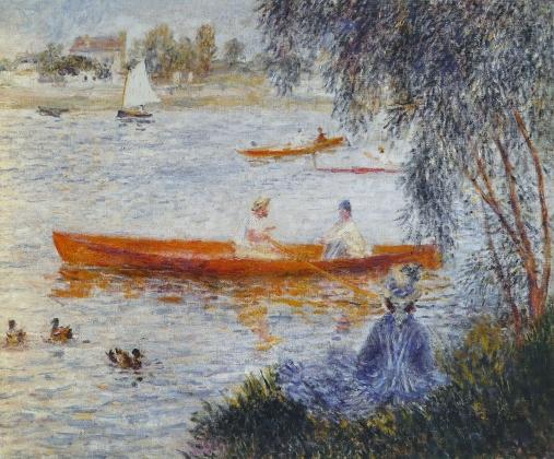 Пьер Огюст Ренуар. Катание на лодках в Аржантёе. 1873