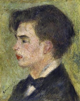 Пьер Огюст Ренуар. Портрет Жоржа Ривьера. 1877