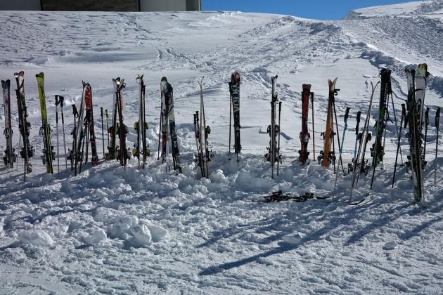 Лыжи. Лыжные палки