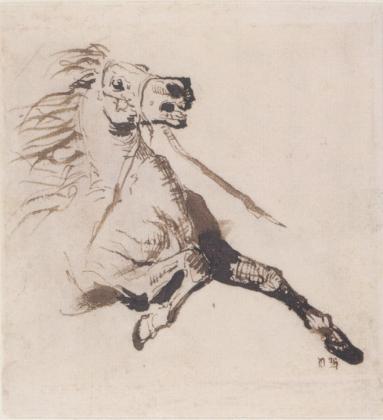 Рисунок Виктора Гюго