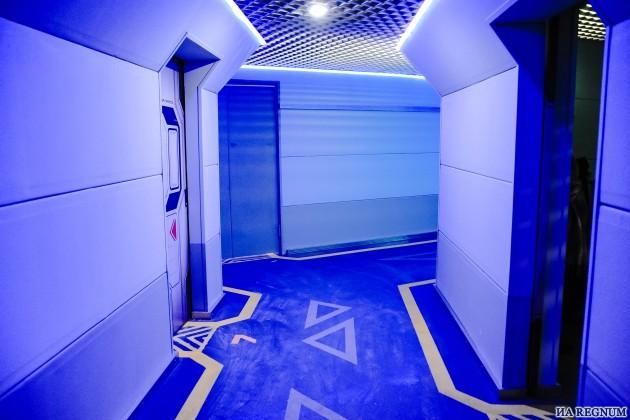 Внутри марсианской станции «Вектор»