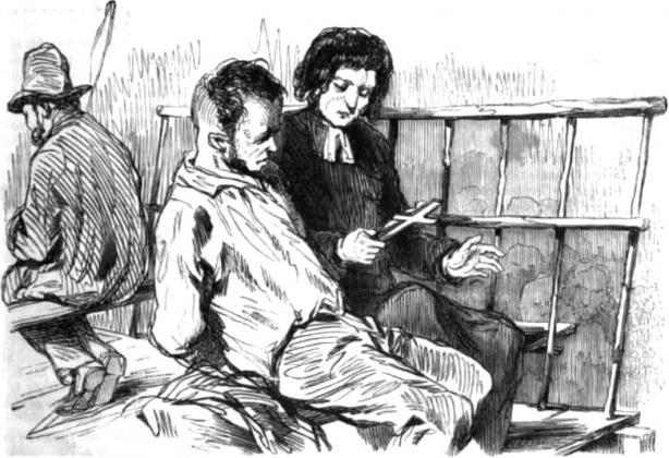 Иллюстрация к повести Виктора Гюго «Последний день приговорённого к смерти». 1853