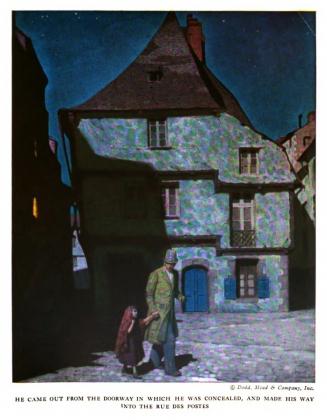 Мид Шеффер. Иллюстрация к роману Виктора Гюго «Отверженные». 1921