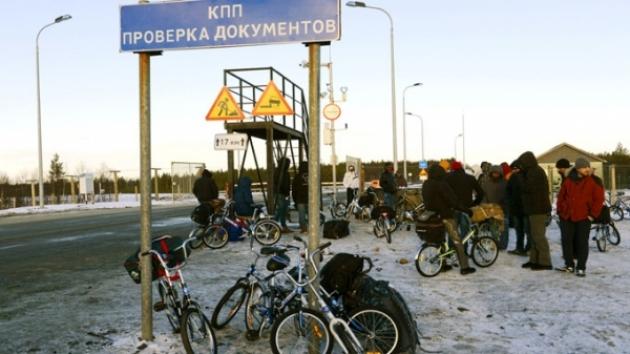 Пограничный переход в Мурманской области