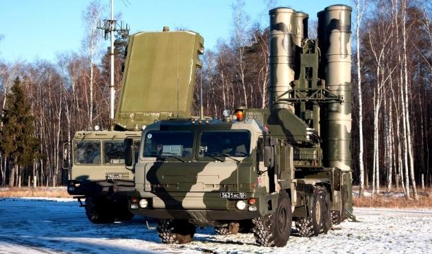 С 400 — Зенитно ракетный комплекс
