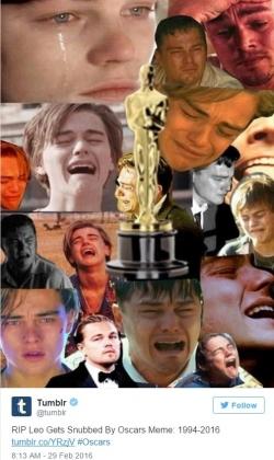 Интернет ликует и поздравляет Ди Каприо с «Оскаром»