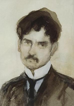 Мартирос Сарьян. Автопортрет. МС. 1902