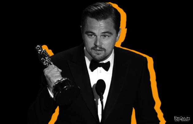 Ди Каприо с Оскаром-2016
