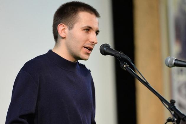 Пётр Багров на открытии Фестиваля «Белые столбы»
