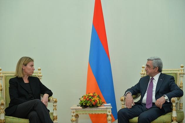 Могерини: партнёрство ЕС с Арменией положительно скажется на всем регионе