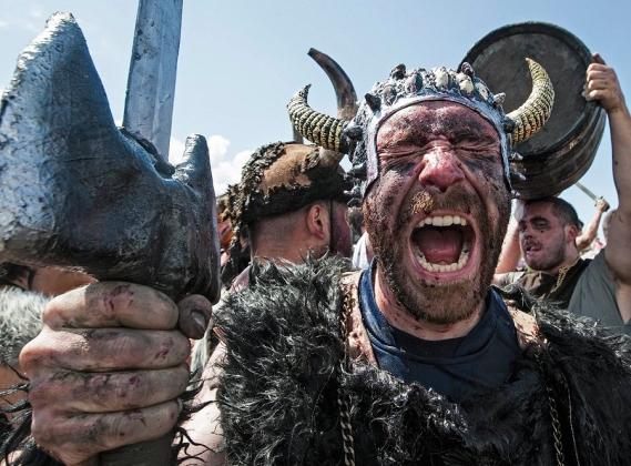 Реконструкторы — викинги