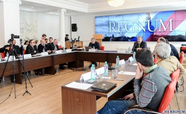 Форум «Экономические и экологические последствия международных природоохранных соглашений для России» в пресс-центре ИА REGNUM