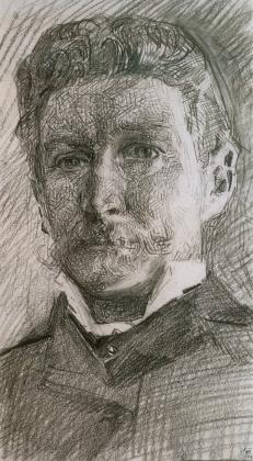 05 Михаил Врубель. Автопортрет. 1905