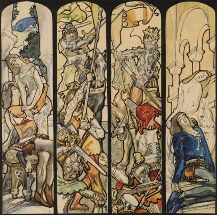 Михаил Врубель. Ромео и Джульетта. 1895-1896