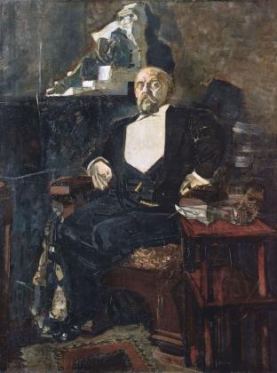 Михаил Врубель. Портрет С.И.Мамонтова. 1897