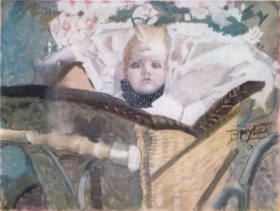 Михаил Врубель. Сын художника. 1901
