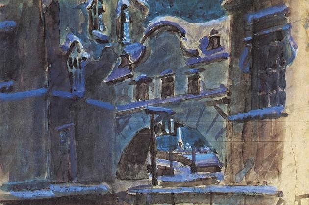 Михаил Врубель. Зимняя канавка. 1901