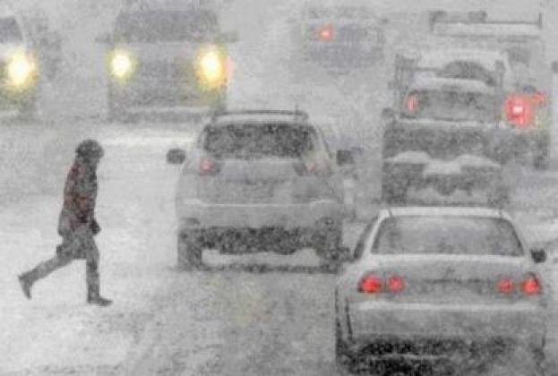 На Камчатке бушует снежный циклон