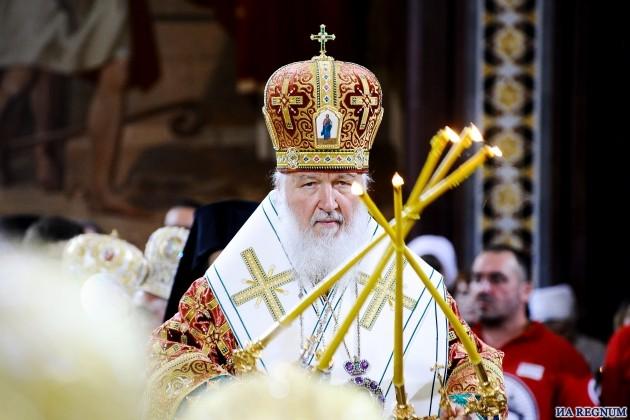 Патриарх Кирилл: Миру грозит «глобальная ересь человекопоклонничества»