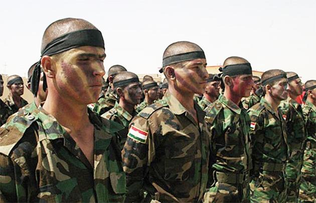 Курдские военизированные формирования в Иракском Курдистане