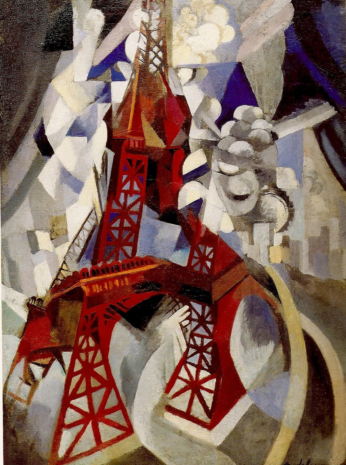 Робер Делоне. Эйфелева башня.  1910