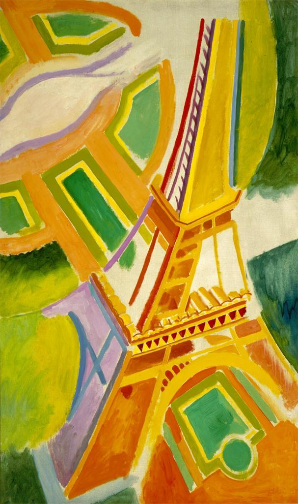 Робер Делоне. Эйфелева башня. 1924