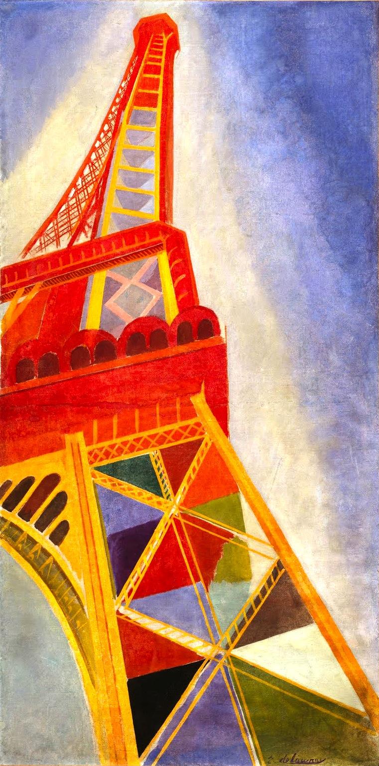 Робер Делоне. Эйфелева башня. 1926