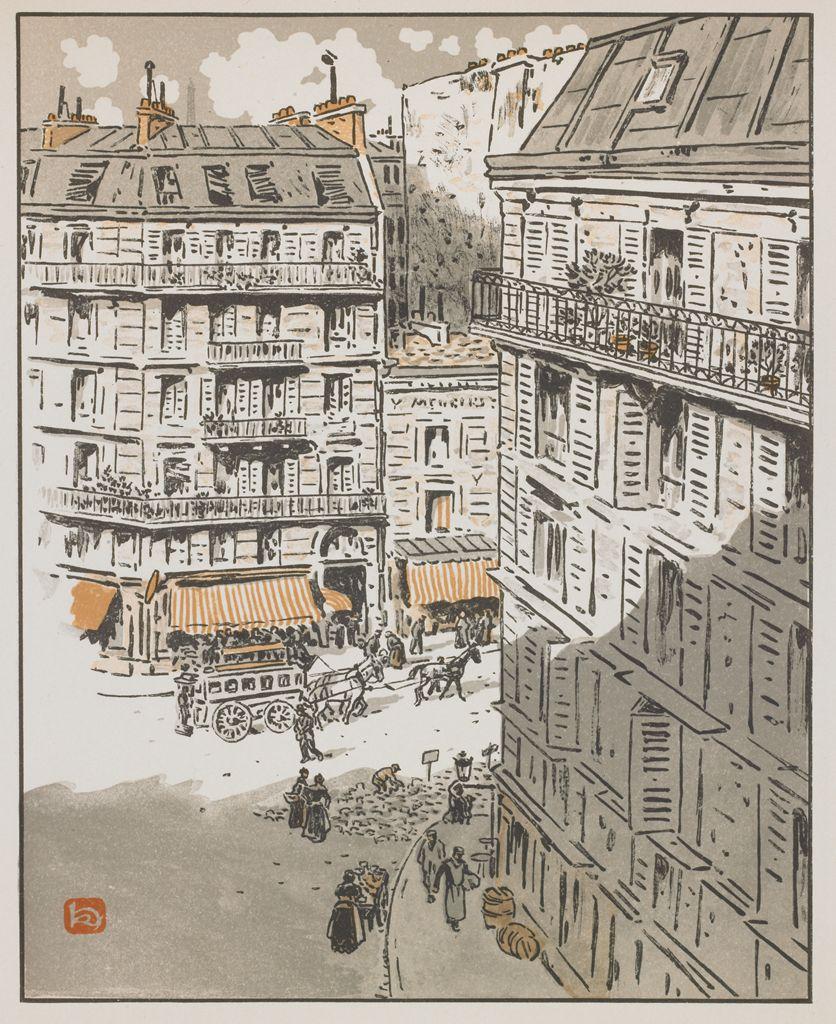 Анри Ривьер. Эйфелева башня. 1902