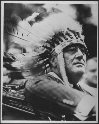 Франклин Рузвельт, 1932,  президентская предвыборная кампания