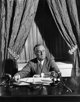 Франклин Рузвельт, 1933, в Белом доме