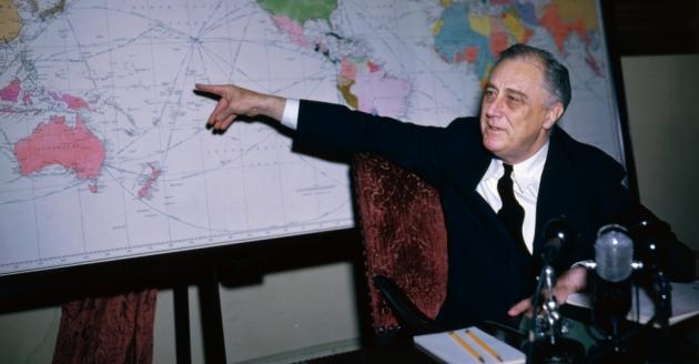 Франклин Рузвельт, 1942