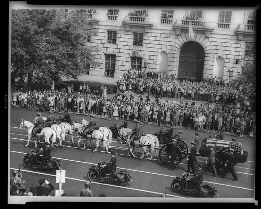 Похороны Франклина Рузвельта, 1945
