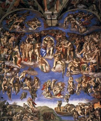 Микеланджело. Страшный суд. 1537-1541