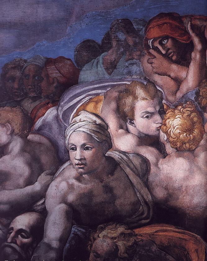 michelangelos fresco the last judgment essay