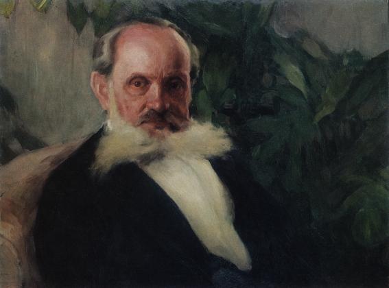 Игорь Грабарь. Портрет Э.И.Грабаря, отца художника. 1895