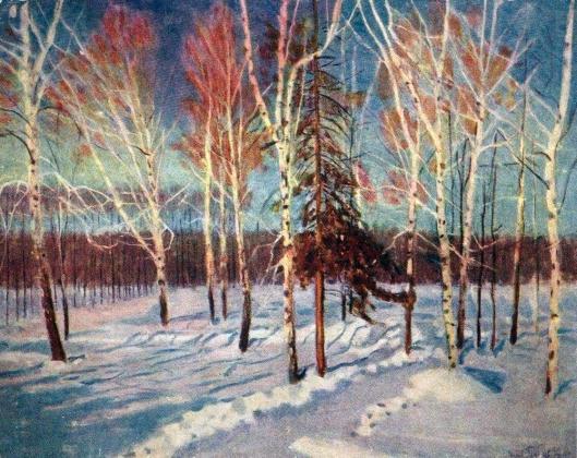 Игорь Грабарь. Солнечный день зимой. 1901