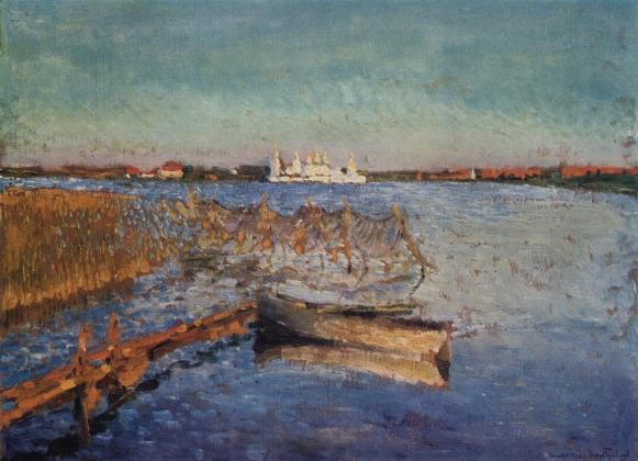 Игорь Грабарь. Сийский монастырь. 1920