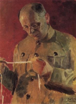 Игорь Грабарь. Портрет Н.П.Горбунова. 1927