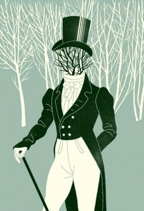 Иллюстрация к «Евгению Онегину» Евгений Онегин. Anna & Elena Balbusso, 2012