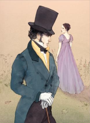 Иллюстрация к «Евгению Онегину» Анна Севериновска, 2010