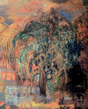 Сергей Судейкин. Ночной праздник. 1905
