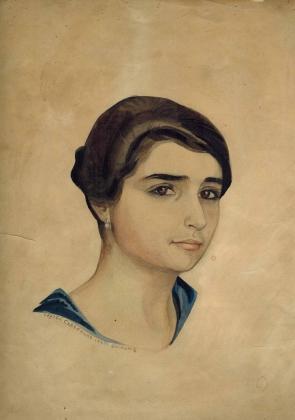Сергей Судейкин. Эстер. 1911