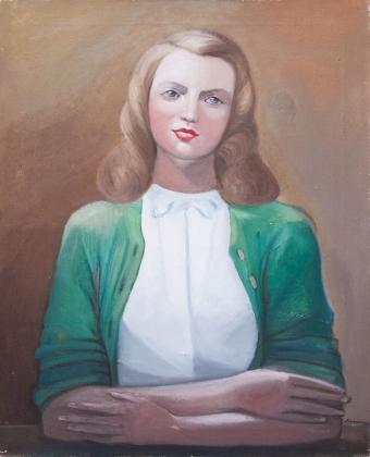 Сергей Судейкин. Портрет жены. 1930-е
